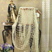 Nautical Fishing Balloon Net Fashion Decorative Beach Scene Party bar Bedroom Decoration Net Decor  Hot Selling 5076 Hot