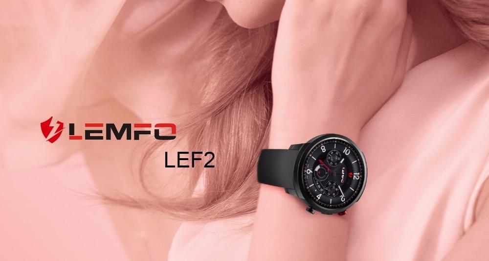 1 LEMFO LEF2 FASHION SMART WATCH SMARTWATCH MEN