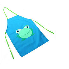 Child Kids Waterproof Household Cartoon Bib Kitchen Animals Painting Craft Apron