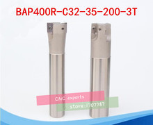 Free Shopping BAP 400R C32-35-200 Indexable Face Mill Holder Dia 35mm L=200mm Milling Cutter Inserts Holder CNC Mill Tool Holder(China)