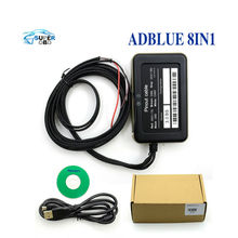 Truck Adblue 8in1 8 in 1  Emulator with Nox Sensor for Mercedes MAN Iveco DAF Volvo-Renault-Ford