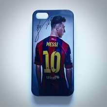 LUCKBUY 7 7Plus Lionel Leo Messi Barcelona back Case Cover For Iphone 5s 5c 5G ,4s 4G & 6G 6S PLUS cell Phone Case Retail
