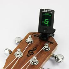 Chromatic Clip-On Digital Tuner For Acoustic Electric Guitar Bass Violin Ukulele(China)