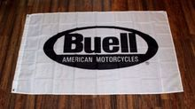 New White Buell American Motorcycles Banner Sports High Quality Flag 3x5FT Custom flag Drop Shipping