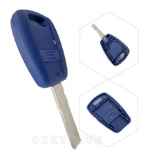 New Car Key For Fiat 1 Button Remote Shell Flip Key Cover Case Fobs Blanks Transponder Bravo Punto Ducato Daily FOR fiat NO logo