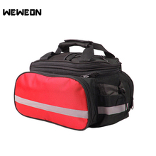 Durable Bicycle Pack Mountain Bike Bag Outdoor Bicycle Storage Bag Tail Package Bag Supporting Cycling Accessory Organizer(China)