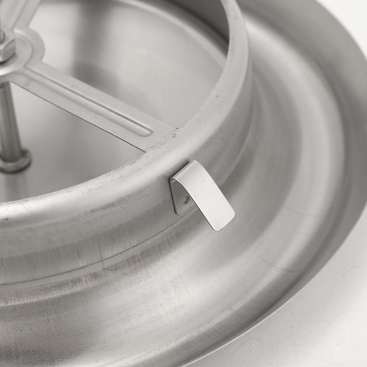 Rejilla de ventilaci/ón de techo toma de entrada de la parrilla ajustable ronda ventilador 4 de di/ámetro 100 mm