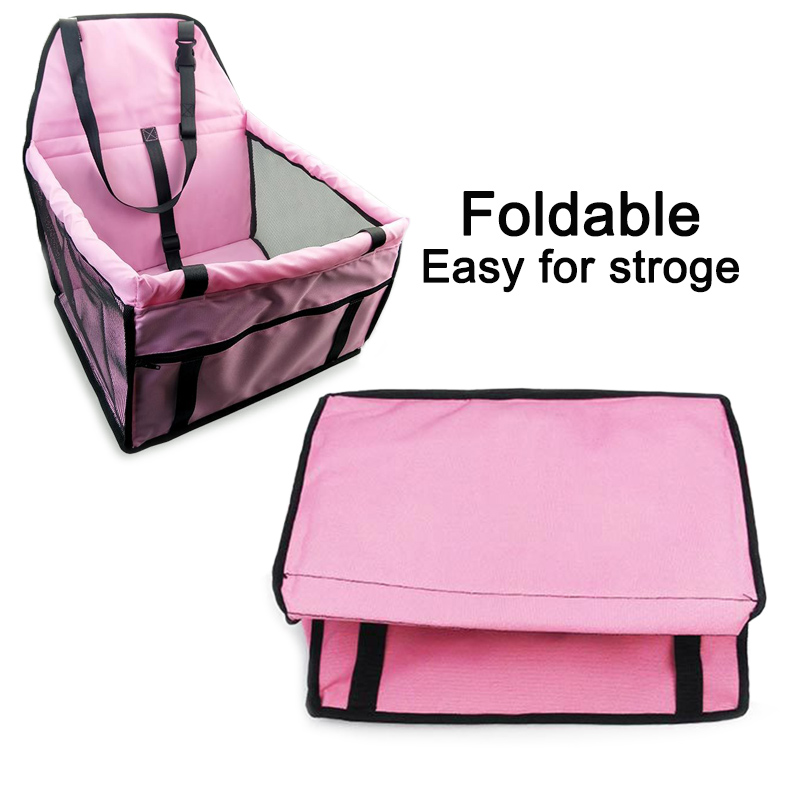 Easy for Storage Waterproof Washable Deluxe Pet Carrier Car Travel Bag for Dog, Cat