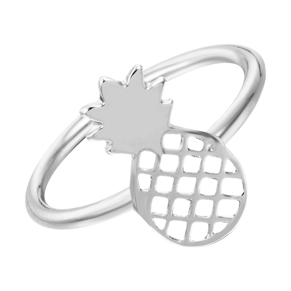 QIAMNI-New-Style-Cute-Tropicana-Pineapple-Fruit-Rings-Sweet-Gift-for-Women-and-Girls-Fashion-Jewelry