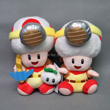 "Free Shipping EMS 100/Lot Super Mario Piush doll stuffed toy Captain Toad Treasure Tracker 7.5-8""(China)"