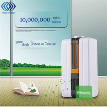 110-220V Portable Negative Ion Air Purifier Ozonator Air Cleaner Oxygen Bar Purify Air Kill Bacteria Virus Ionizer(China)
