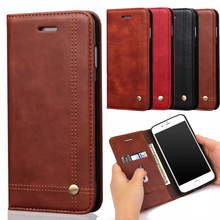 Buy Funda iPhone 7 8 Plus Flip Case Cover Luxury PU Leather Phone Cases Apple iPhone 8 7 Plus Flip Wallet Money Card Holder for $6.99 in AliExpress store