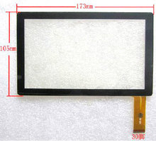 "New Maxtouuch 7"" Inch Android 4.0 Tablet Matricom TAB Nero replacement touch screen digitizer glass touch panel Free Shipping(China)"