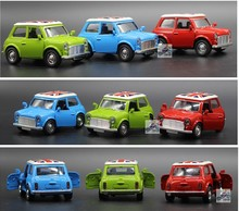 1:36 Diecast Cars 1/36 Cooper Model Car Mini Metal Model Car Kids Dinky Toys For Children Alloy City Vehicles Toy Brinquedos
