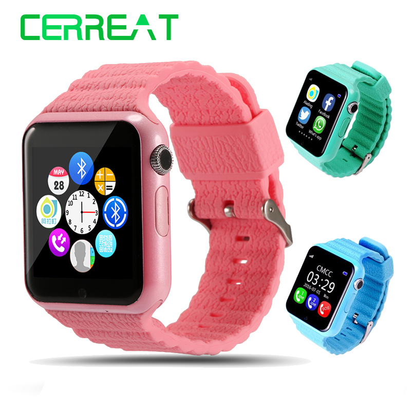 V7K Kids Children Smart Watch Phone GPS LBS AGPS Voice Call GPS Tracker Life Waterproof Baby Children Safe Smart Wristwatch<br>