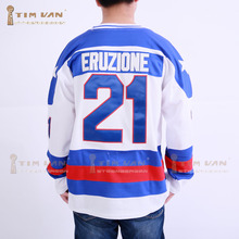 TIM VAN STEENBERGE 1980 Miracle On Ice Team USA Mike Eruzione 21 Hockey Jersey-White