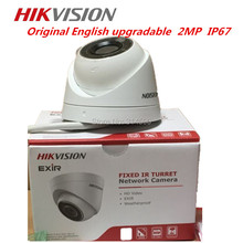 Hikvision Network Mini Dome Camera DS-2CD1321-I EXIR Turret Network Camera CCTV camera  POE IP67 Support Upgrade