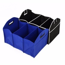 Vehemo Collapsible Car Trunk Organizer Toys Food Storage Truck Cargo Container Bags Box Car Stowing Styling Auto Accessories