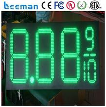 Leeman 10inch Led gas price sign \ led gas station sign \ digital price display gas station led sign price / P10 led display