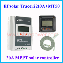 20A Solar Tracker EPEVER Solar Collector Controller MPPT 24V 12V Auto Swtich Solar Panel Max 100V for Sealed Gel Flooded 2210A(China)
