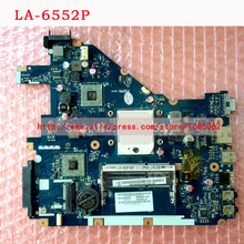 LA-6552P Laptop Motherboard FOR ACER Aspire 5315 5552, For Gateway NV50A PEW96 L01 MBR4602001  461942BOL01 100% TSTED GOOD