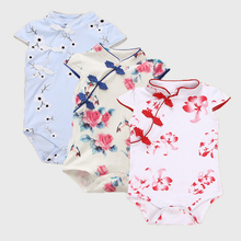 Baby Girl Clothes Summer Baby Rompers 2017 Newborn Baby Clothes Roupas Bebe Infant Baby Girl Dress Kids Clothing 7-24 Month