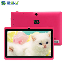 iRULU eXpro X1 7'' Tablet Android 4.4 Tablet Allwinner Quad Core 16GB ROM Dual Cameras Support WiFi OTG HOT Seller Multi Color(China)