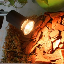 Reptile Lamp Holder Heating Light UVB UVA Clip/Seize 2 Type Iron Ceramic E27 Without Bulb For Aquarium Pet Brooder Basking Light(China)