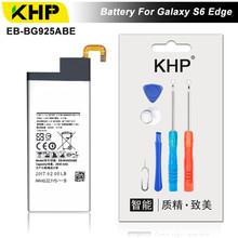 KHP 2017 Original KHP Phone Battery For Samsung Galaxy S6 Edge G9250 G925F Battery EB-BG925ABE Replacement Mobile Battery(China)
