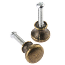2Pcs 15mm Antique Furniture Handle Cupboard Handle Decorative Mini Jewelry Box Drawer Cabinet Door Pull Knob Furniture Hardware