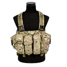 2017 New Military Hunting Vest CS Magazine Carrier War Bags Camouflage Tactical Vests Airsoft Chest Rig ZM14(China)