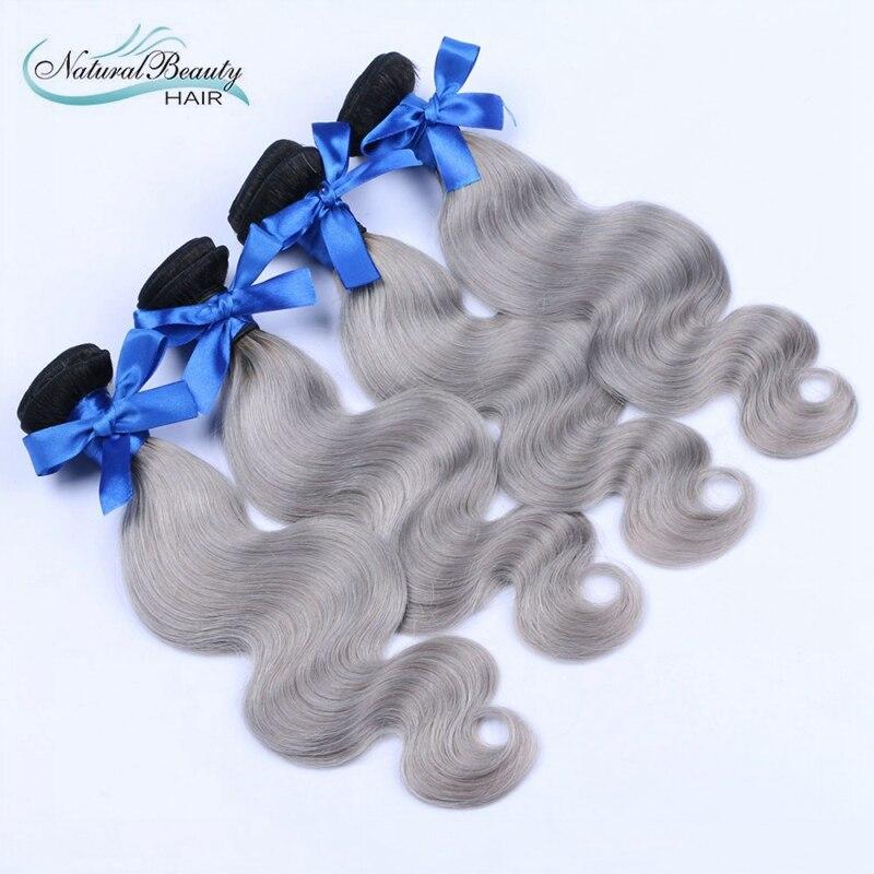 4pcs/lot Silver Gray Body Wave Brazilian Virgin Hair Bundles,Unprocessed 7A Brazilian Body Wave Grey Hair Weft Extensions<br><br>Aliexpress