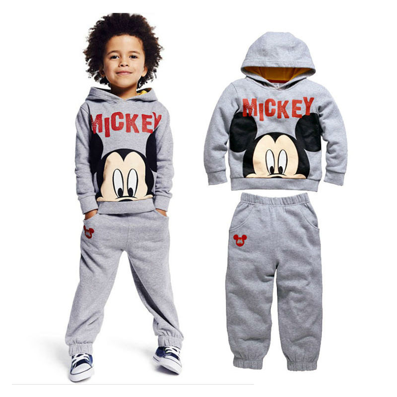 2017 Fashion Boys Clothing Set Minnie Kids Sport Suit Children Mickey Long Sleeve Toddler Boys Clothing Boutique Boys Clothes<br><br>Aliexpress