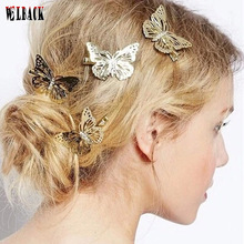The Greek style Europe hot sale butterfly hairpin retro bride hairpin new arrival fashion hair jewelry