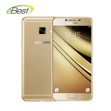Samsung Galaxy C5 / C5000 4G LTE Mobile Phone Super AMOLED 5.2 inch FHD Screen Snapdragon 617 Octa Core 16MP Camera(China)
