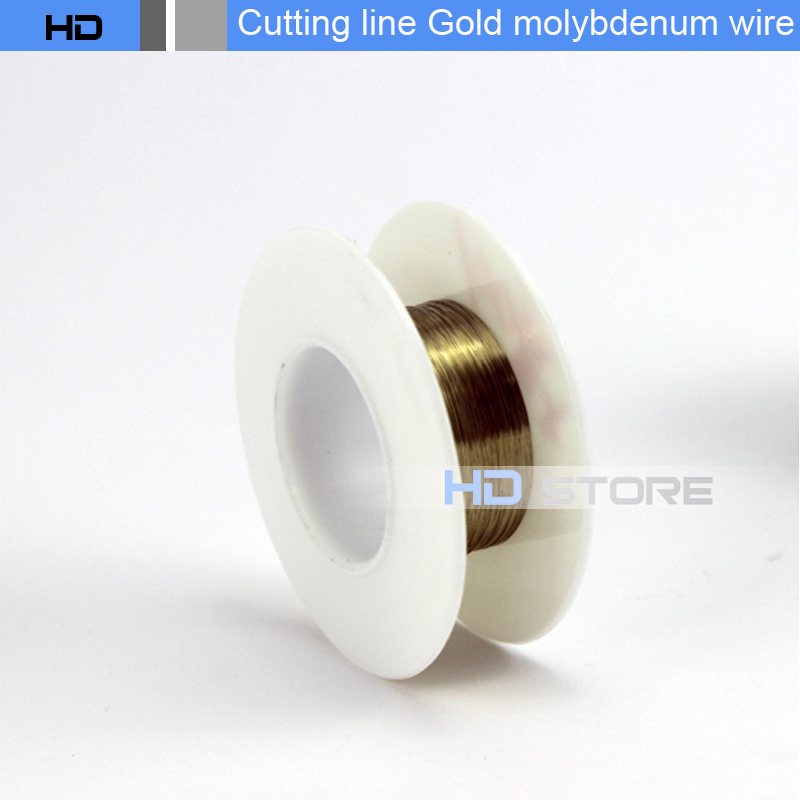 500m/pcs gold cutting line separate lcd and glass 0.1mm gold wire UV optical liquid cutting phone screen separation tools<br><br>Aliexpress
