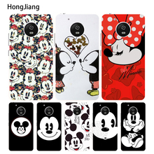 HongJiang Mickey Minnie Funny Face case cover for For Motorola Moto G6 G5 G4 PLAY PLUS ZUK Z2 pro BQ M5.0(China)