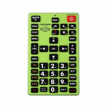 1PCS Chunghop E450 2AAA Combinational remote control learn remote for TV SAT DVD CBL DVB-T AUX universal remote CE BIG REMOTE(China)