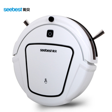 Dry Automatic Rechargeable Cheap Robot Vacuum Clean with two side brush,Edge Clean Time Schedule, Seebest D720 MOMO 1.0(China)