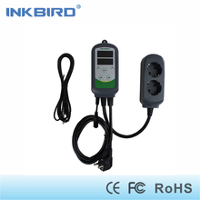 Inkbird ITC-308S EU Plug 220V Pre-wired Digital Thermostat Dual Stage Temperature Controller with NTC Sensor for brew Aquarium(China)