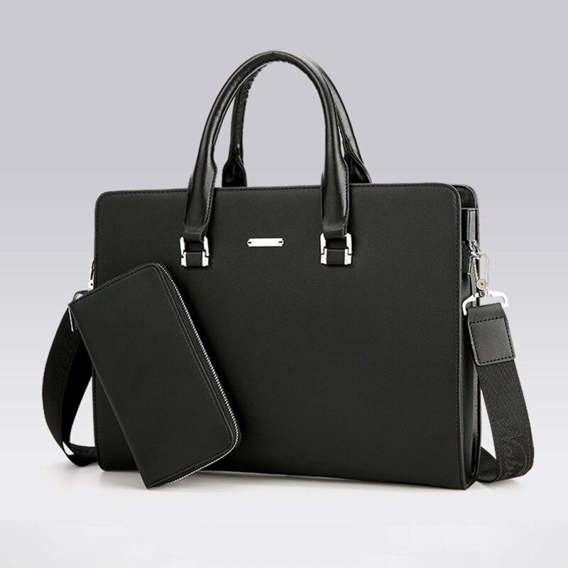 Briefcases Brand Business laptop briefcase Handbag Fashion Cross-section Crossbody Bag Luxury Designer Men Briefcase Message bag<br>