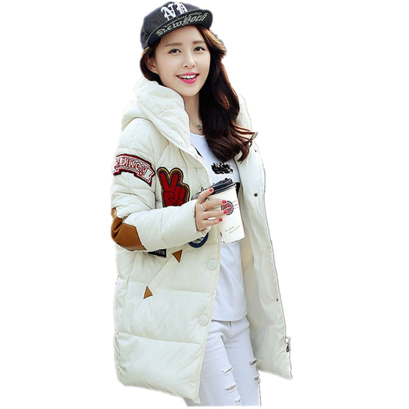 new 2016 women's clothing han edition  long winter cloth coat collars of camel's hair with wool coat B005