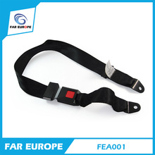 E-mark Certificate Car 2 Point Safety Seat Belt Manufacturer School Bus Safety Belt FEA001(China)