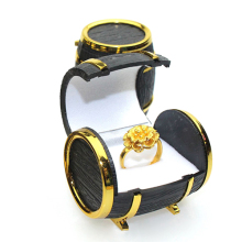 New Arrival Retro Beer Barrel Jewelry Box Bracelet Necklace Storage Organizer Holder Case