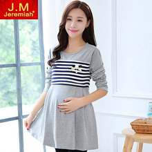 Top Value 2 piece / set Breastfeeding Dresses Clothes for Pregnant Women Dress for Pregnancy Nursing Dresses Nursing friendly