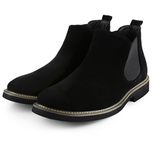 Spring/Autumn Fashion Men's Boot British Style Fashion Ankle Boots Suede Material Casual Males Boots Shoe Size 40-44