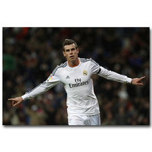 NICOLESHENTING Gareth Bale Super Soccer Football Star Silk Poster 13x20 24x36 inch Sports Pictures for Room Wall Decor 025