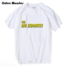Movie The Big Lebowski Fans T shirt Coen Brothers Comedy Film T-shirt Women Letter Printed Top 100% Cotton Top Tees Clothes 3XL(China)