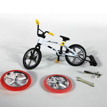 Mini Finger BMX Bicycle Flick Trix Finger Bikes BMX Bike Model Toys Mini Finger Bike Tech Deck Gadgets Novelty Gag Toys For Kids(China)