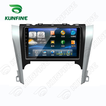 Quad Core 1024*600 Android 5.1 Car DVD GPS Navigation Player Car Stereo for Toyota Camry 2013 2014 Deckless Bluetooth Wifi/3G(China)